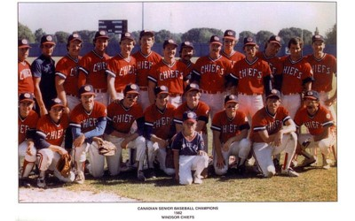 Windsor Chiefs Baseball Team