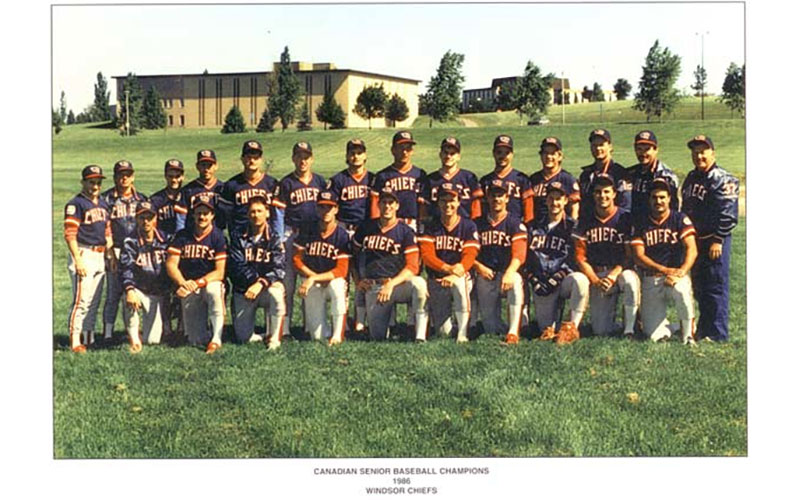 Windsor Chiefs 1986