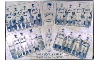 Walkerville Chicks 1929 Ontario Senior Baseball Champions